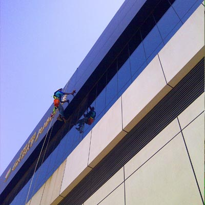 ACP /Facade/Glass Cleaning Services